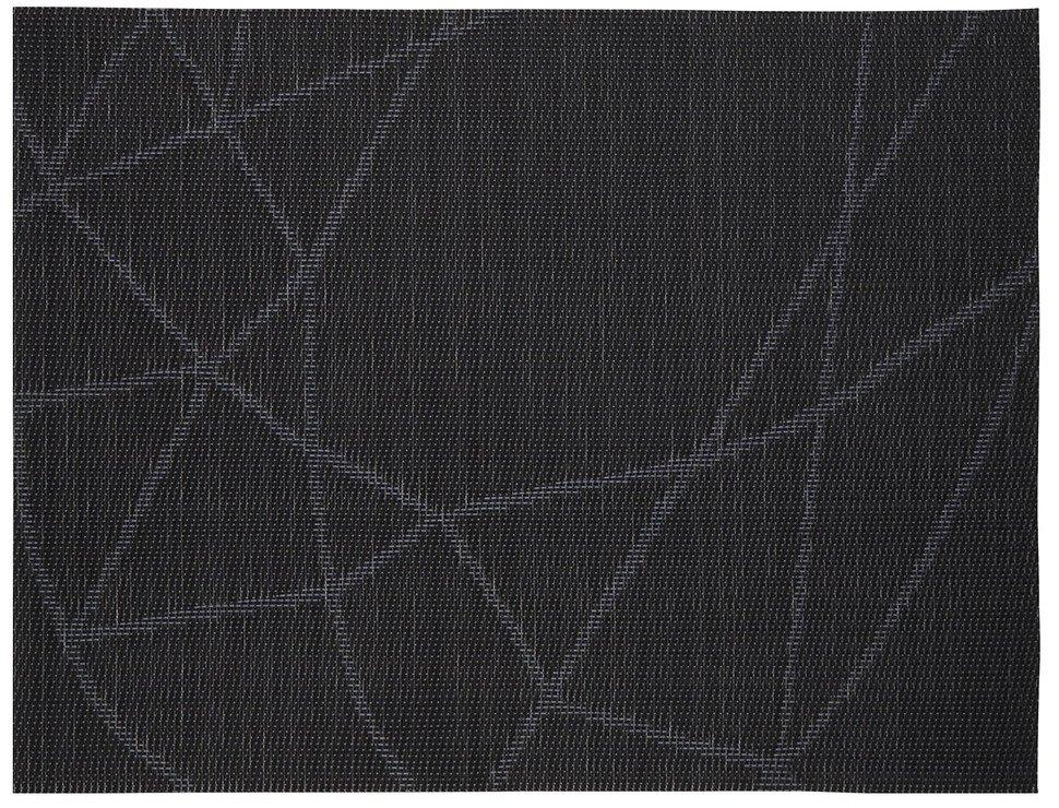 Zone Tischset Confetti schwarz gemustert 30 x 40cm - Pic 1