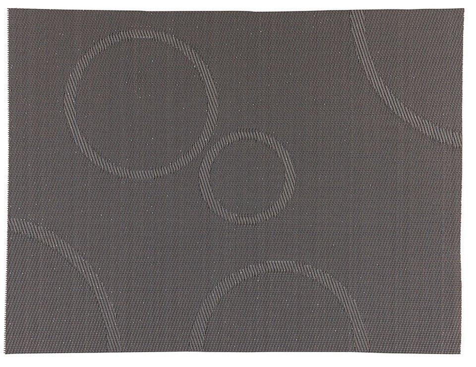 Zone Tischset Confetti mit Kreisen grau 30 x 40cm - Pic 1