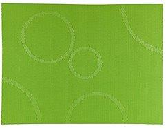 Zone Tischset Confetti mit Kreisen apfelgrün 30 x 40cm