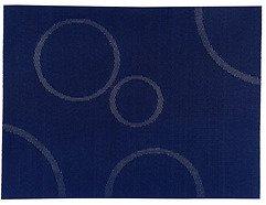 Zone Tischset Confetti mit Kreisen blau 30 x 40cm