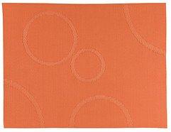 Zone Tischset Confetti mit Kreisen orange 30 x 40cm