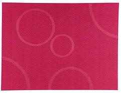 Zone Tischset Confetti mit Kreisen himbeere 30 x 40cm
