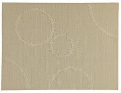 Zone Tischset Confetti mit Kreisen beige 30 x 40cm