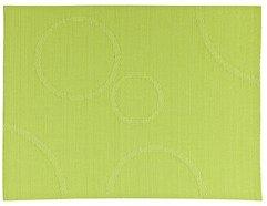Zone Tischset Confetti mit Kreisen grün 30 x 40cm