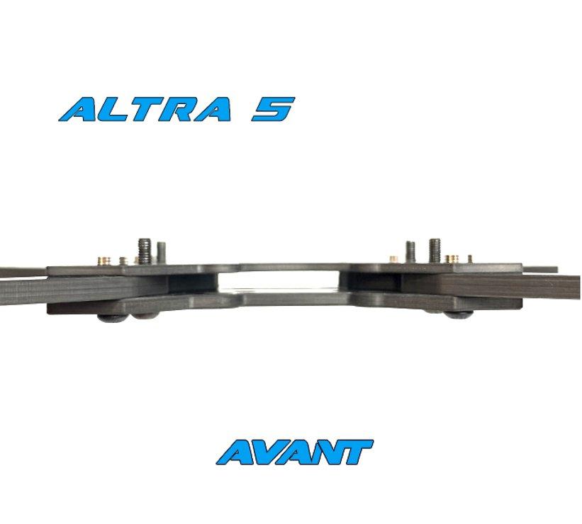 Avantquads Altra 5 Vilano Edition Frame Kit Silber - Pic 2