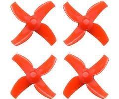 BETAFPV FPV Propeller 4 Blatt 40mm 1mm Hub in Rot