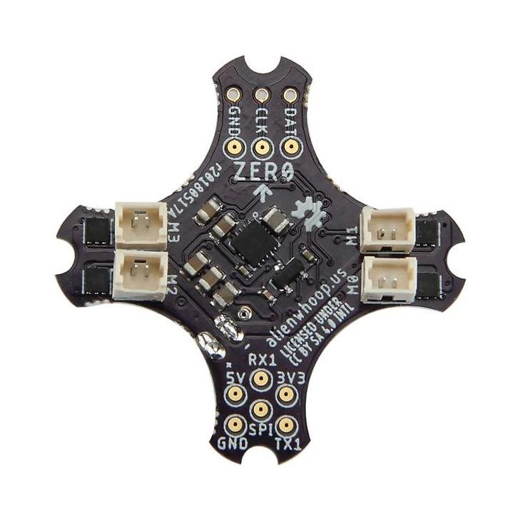 AlienWhoop Project ZER0 Brushed Flight Controller SBUS - Pic 1