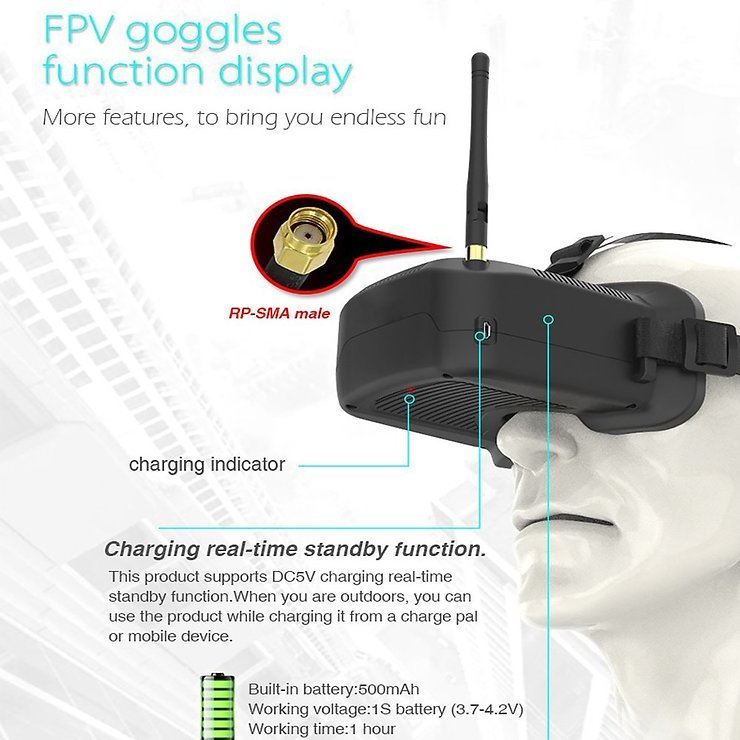 BETAFPV Whoop Racing Advanced Kit RC Brille und Copter - Pic 3