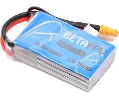 BETAFPV Batterie Lipo Akku 450mAh 3S 1 Stück