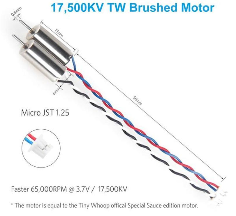 BETAFPV RC Motor für Tiny Whoop 17500KV 6x15mm - Pic 2