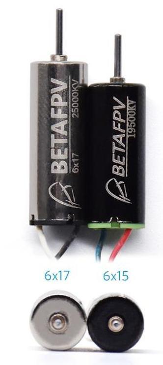 BETAFPV RC Motor für Tiny Whoop 25000KV 6x17mm - Pic 3
