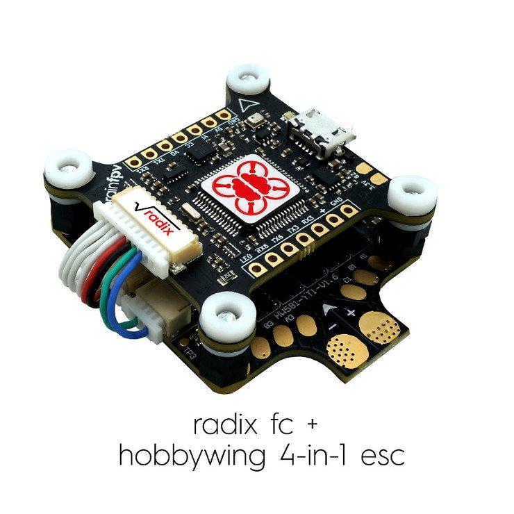 BrainFPV Radix F4 FC mit OSD - Pic 5