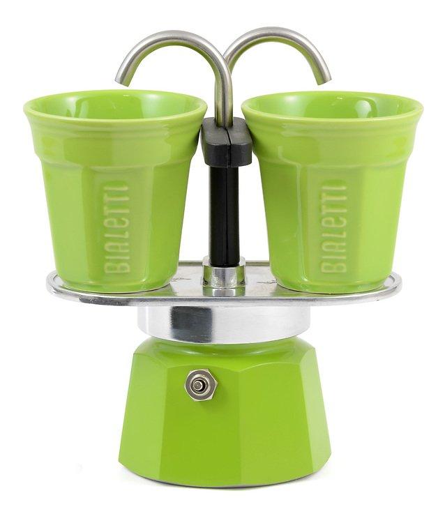 Bialetti Espressokocher Mini Express grün - Pic 1