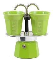 Bialetti Espressokocher Mini Express grün