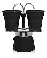 Bialetti Espressokocher Mini Express schwarz