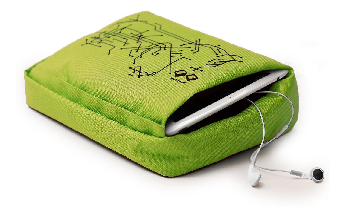 Bosign iPad/Tablet Kissen Hitech 2 Lime Schwarz - Pic 2