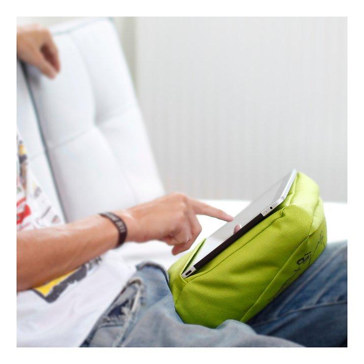 Bosign iPad/Tablet Kissen Hitech 2 Lime Schwarz - Pic 3