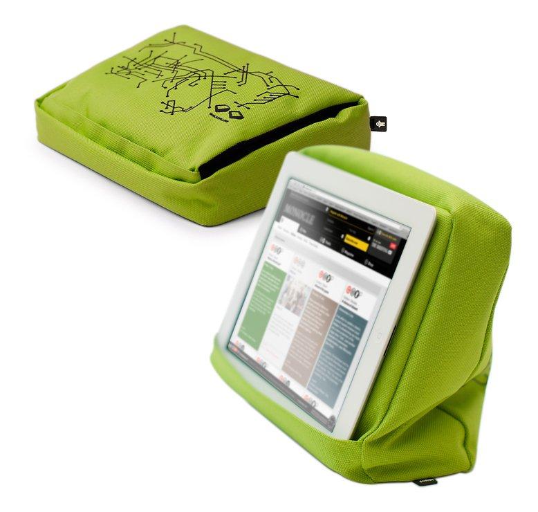 Bosign iPad/Tablet Kissen Hitech 2 Lime Schwarz - Pic 1