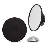 Bosign Kosmetikspiegel 10 fache Vergrößerung mit Magnethalter schwarz