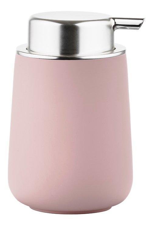 Zone Seifenspender Nova Porzellan Soft Touch rosa matt - Pic 1