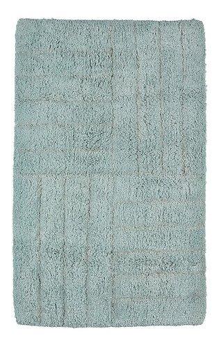 Zone Badematte 80 x 50 cm Baumwolle hellgrün