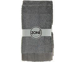 Zone Handtuch Confetti 100x50cm grau