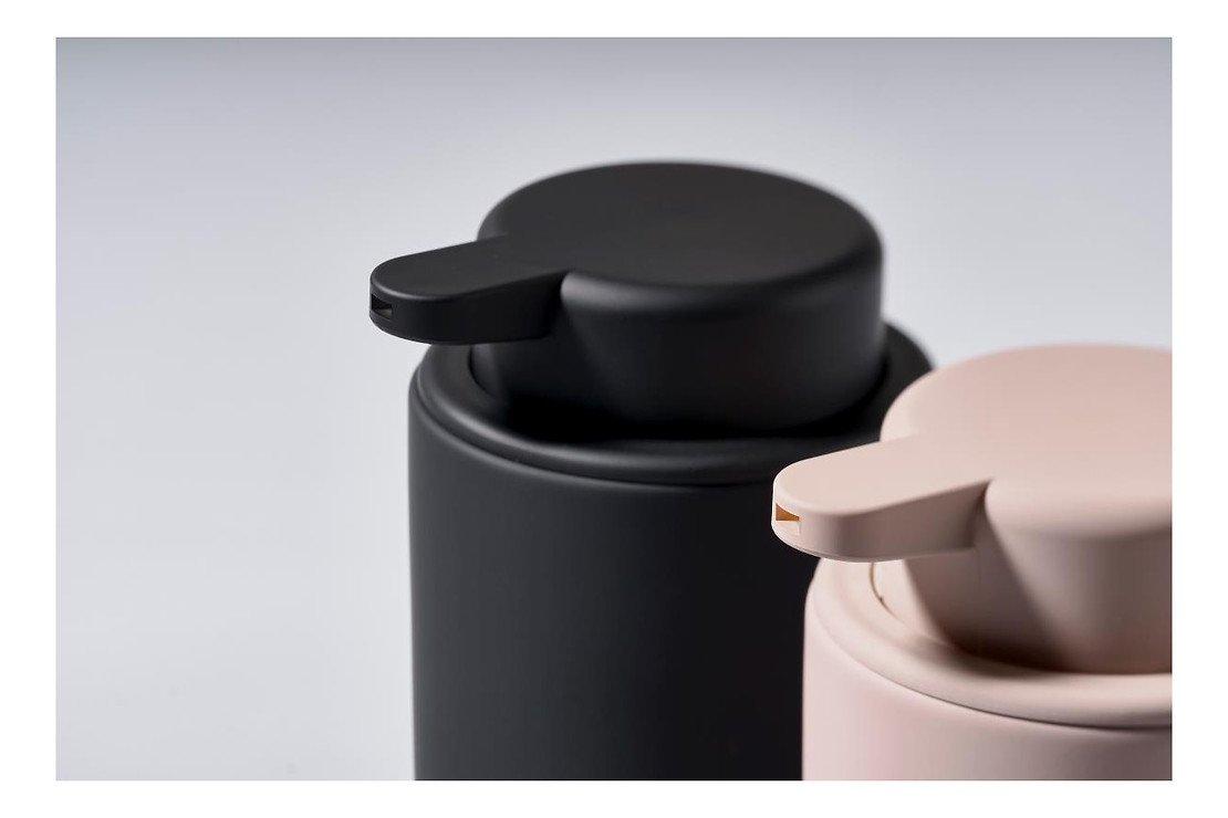 Zone Seifenspender Ume Keramik 0,25 l Soft Touch schwarz matt - Pic 3