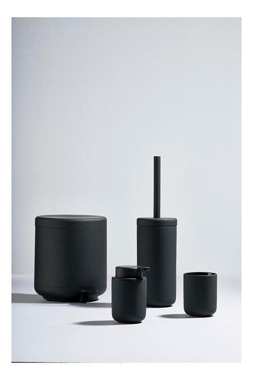 Zone Seifenspender Ume Keramik 0,25 l Soft Touch schwarz matt - Pic 4