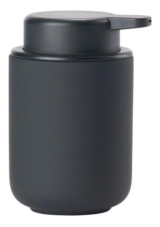 Zone Seifenspender Ume Keramik 0,25 l Soft Touch schwarz matt - Pic 1