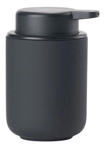 Zone Seifenspender Ume Keramik 0,25 l Soft Touch schwarz matt