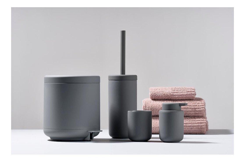 Zone Seifenspender Ume Keramik 0,25 l Soft Touch grau matt - Pic 2