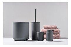 Zone Seifenspender Ume Keramik 0,25 l Soft Touch grau matt