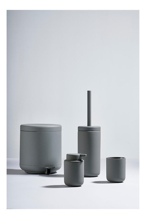 Zone Seifenspender Ume Keramik 0,25 l Soft Touch grau matt - Pic 3