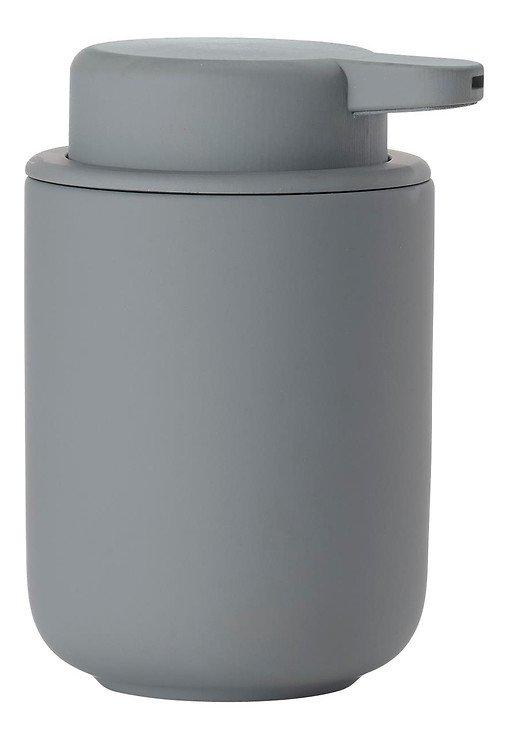 Zone Seifenspender Ume Keramik 0,25 l Soft Touch grau matt - Pic 1