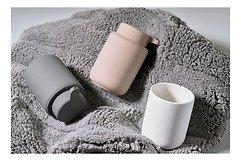 Zone Zahnputzbecher Ume Keramik Soft Touch weiß matt