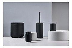 Zone Toilettenbürste Ume Keramik Soft Touch schwarz matt