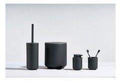 Zone Pedaleimer Ume 4 l ABS Soft Touch schwarz matt