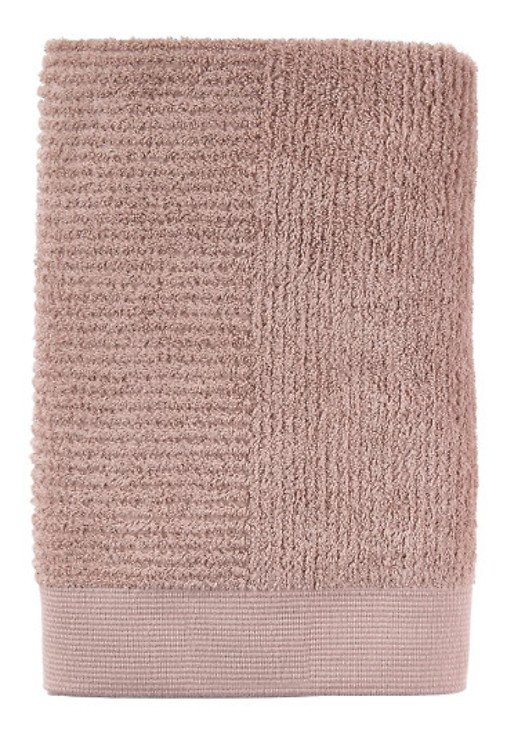 Zone Badehandtuch Classic 140 x 70 cm Baumwolle nude - Pic 1