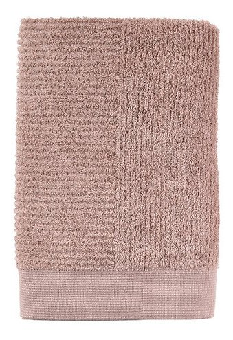 Zone Badehandtuch Classic 140 x 70 cm Baumwolle nude