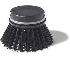 Zone Spülbürste Ersatzbürstenkopf soft schwarz
