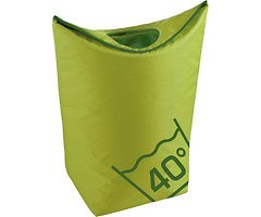 Zone Wäschekorb Confetti 45l Polyester lime grün