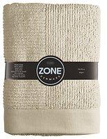 Zone Badetuch Classic Baumwolle 140 x 70cm sand