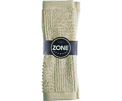Zone Handtuch Waschlappen Confetti Baumwolle 30 x 30cm sand