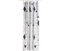 Zone Duschvorhang Harlequin Polyester 2 x 1,8 m schwarz