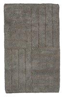 Zone Badematte 80 x 50 cm Baumwolle grau