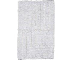 Zone Badematte 80 x 50 cm Baumwolle weiß
