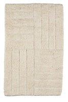 Zone Badematte 80 x 50 cm Baumwolle sand
