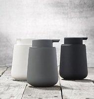 Zone Seifenspender Nova One Keramik Soft Touch schwarz matt