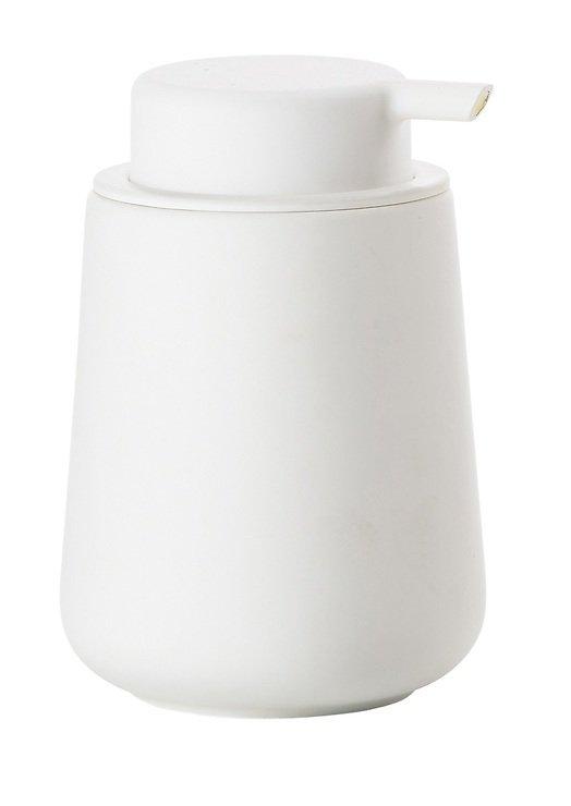 Zone Seifenspender Nova One Keramik Soft Touch weiß matt - Pic 1
