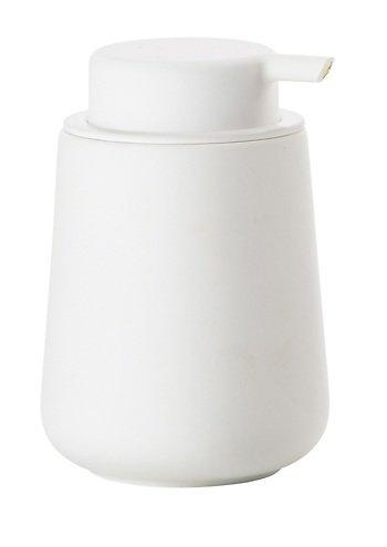 Zone Seifenspender Nova One Keramik Soft Touch weiß matt